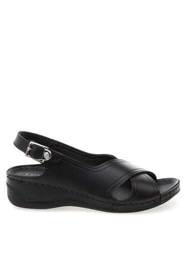 Cotton Bar Sandalet Siyah